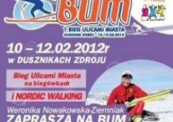 I Bieg Ulicami Miasta na biegówkach - Duszniki Zdrój 2012